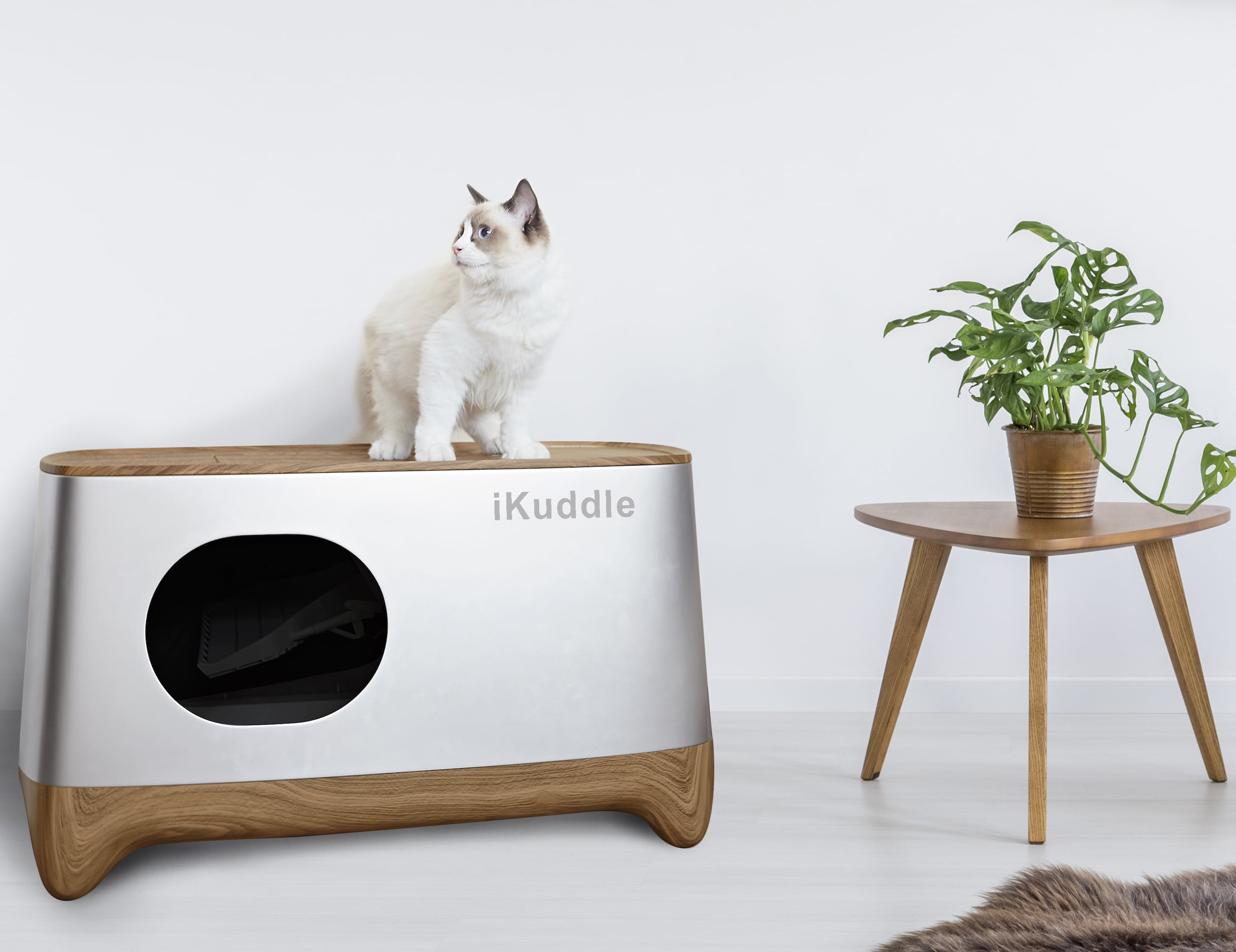 iKuddle Auto-Packing Litter Box actually cleans itself
