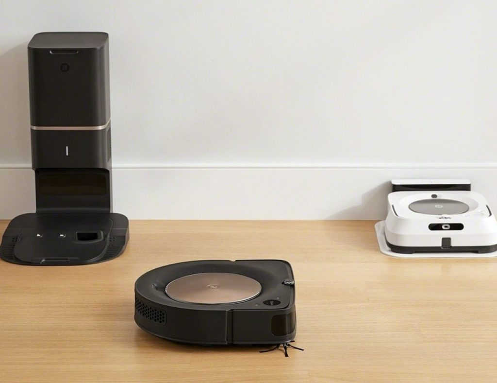 iRobot+Roomba+s9%2B+Automatic+Dirt+Disposal+Vacuum+can+communicate+with+your+mop