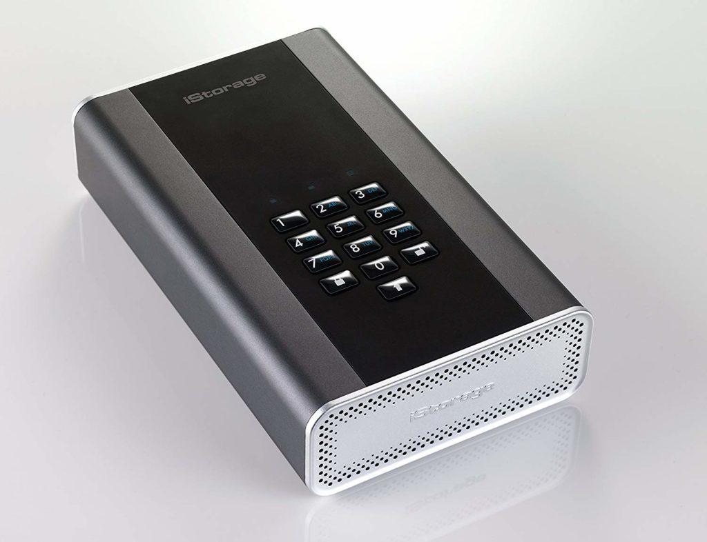 iStorage diskAshur DT2 Encrypted Desktop Hard Drive