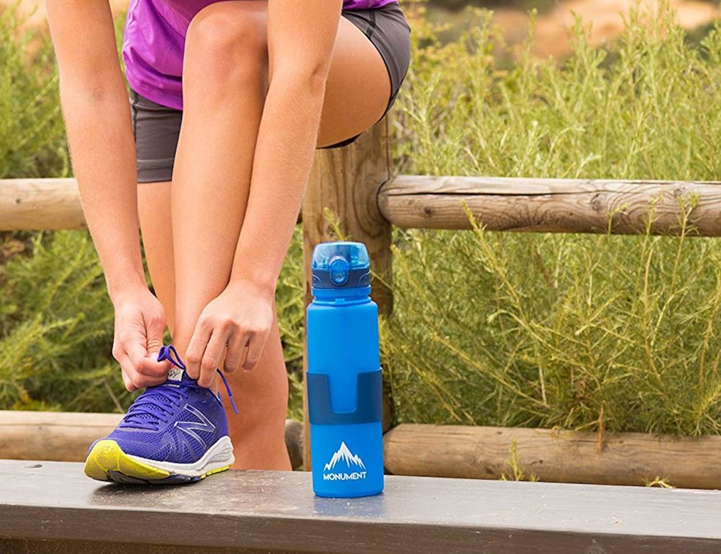 Monument+Collapsible+Water+Bottle+is+an+easily+storable+thirst+quencher