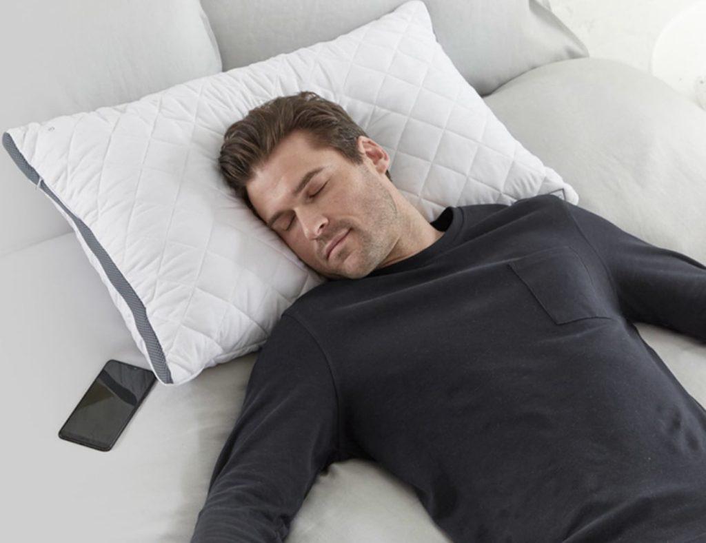 soundsleep+Bluetooth+Speaker+Pillow+monitors+your+sleeping+patterns