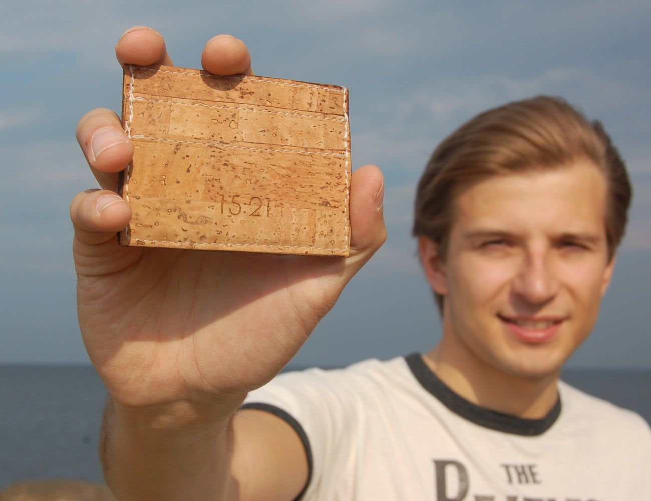 15:21 Cork Credit Card Holder is way cooler than a wallet