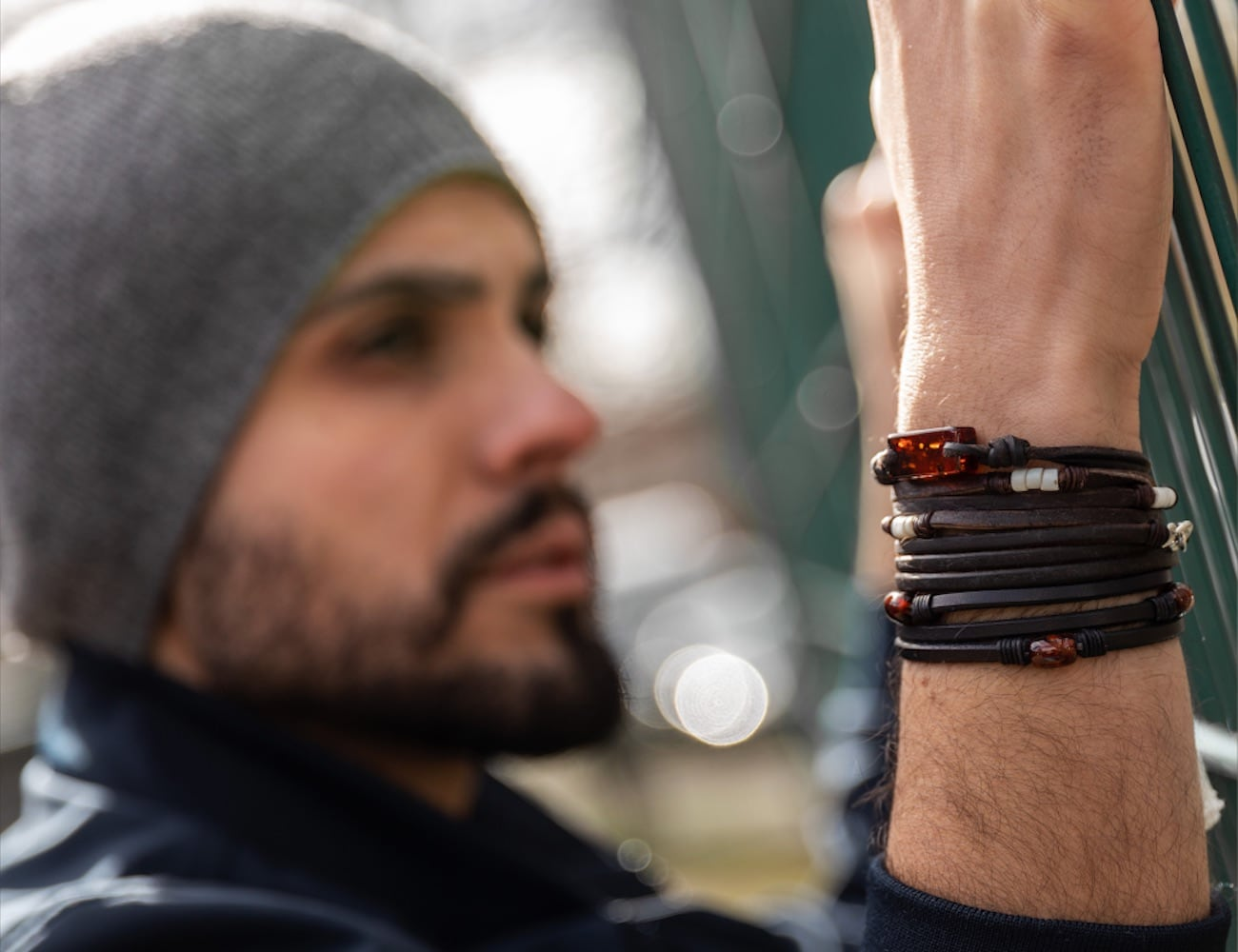 Atlas Accessories Handcrafted Sustainable Jewelry keeps you grounded to the earth