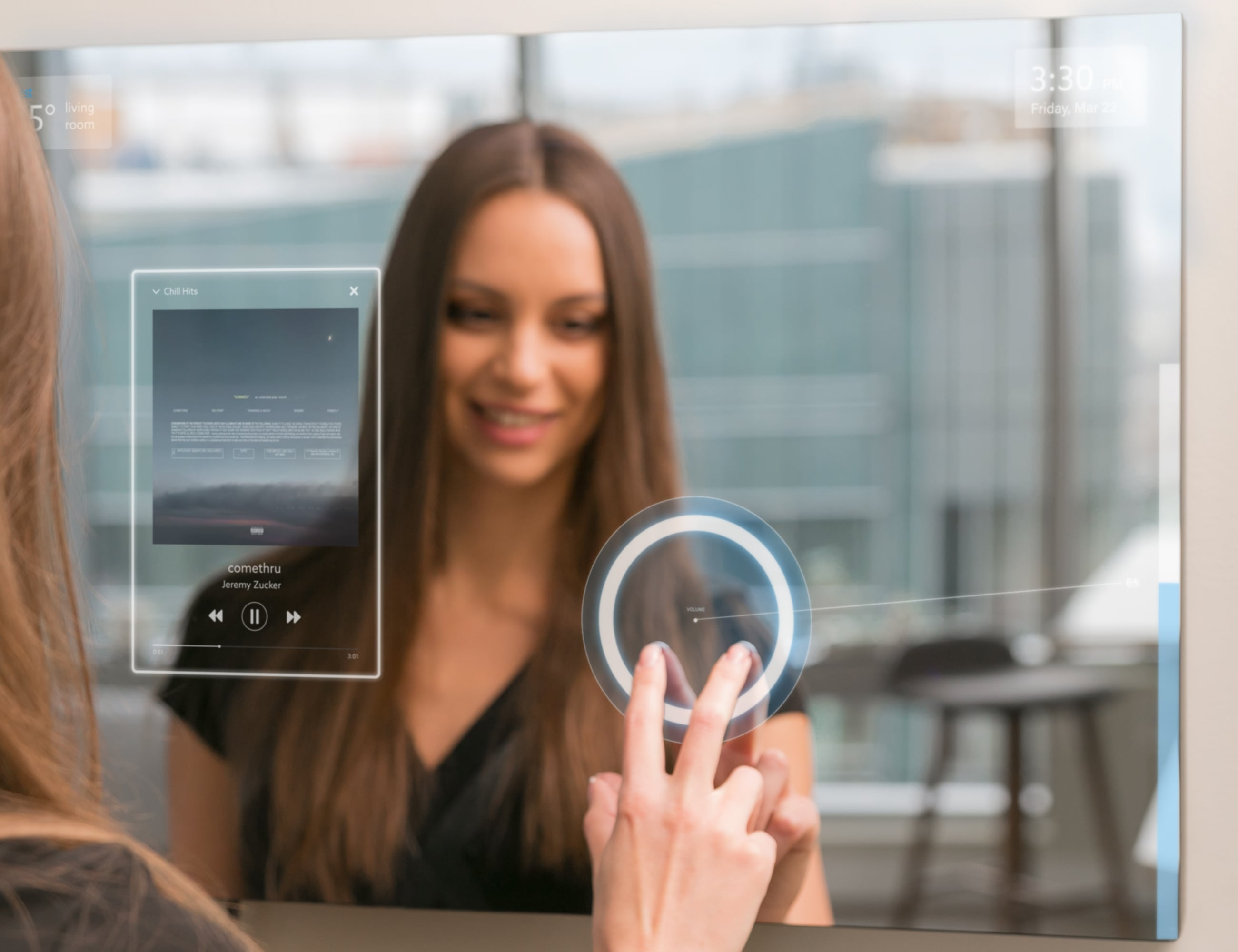 Ayi AI-Powered Smart Mirror can do it all for you