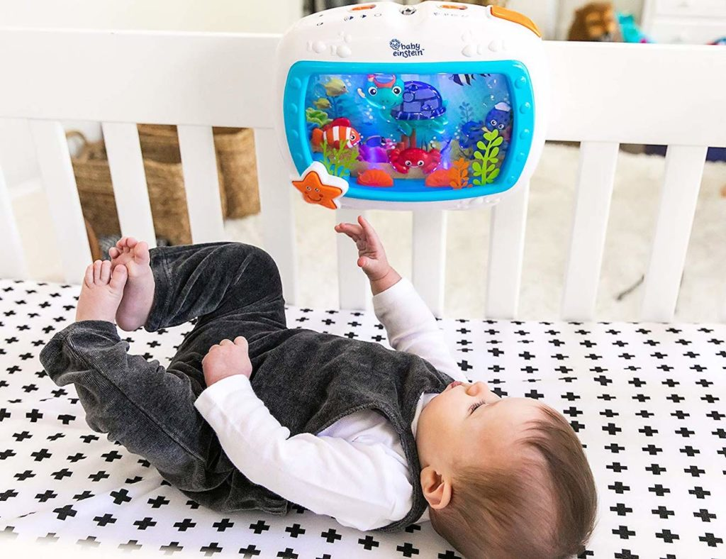 Baby+Einstein+Sea+Dreams+Soother+Calming+Crib+Toy+helps+your+baby+sleep+well