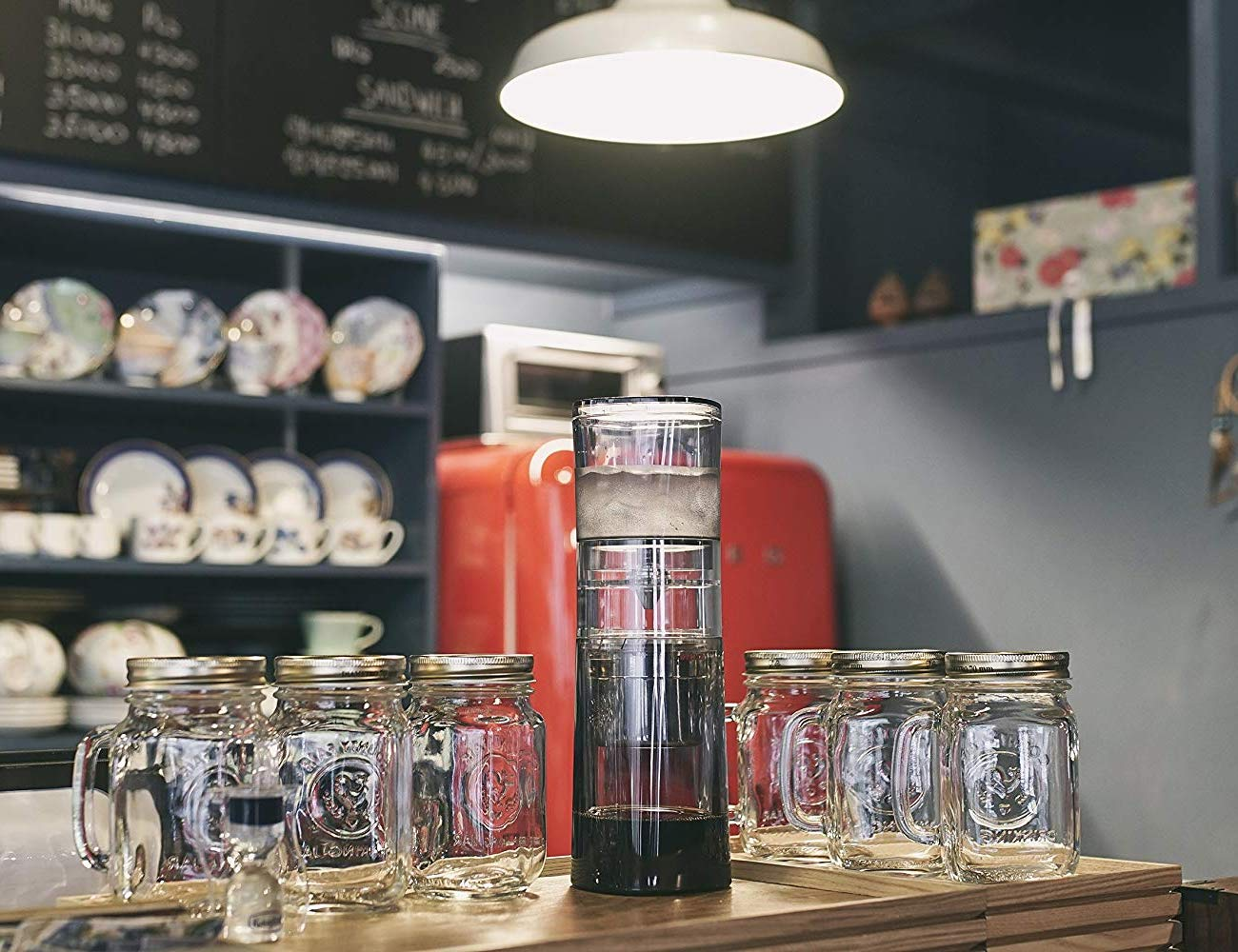 Brewki DKINZ Deluxe Cold Brew Coffee System let's you serve cold brew in your home