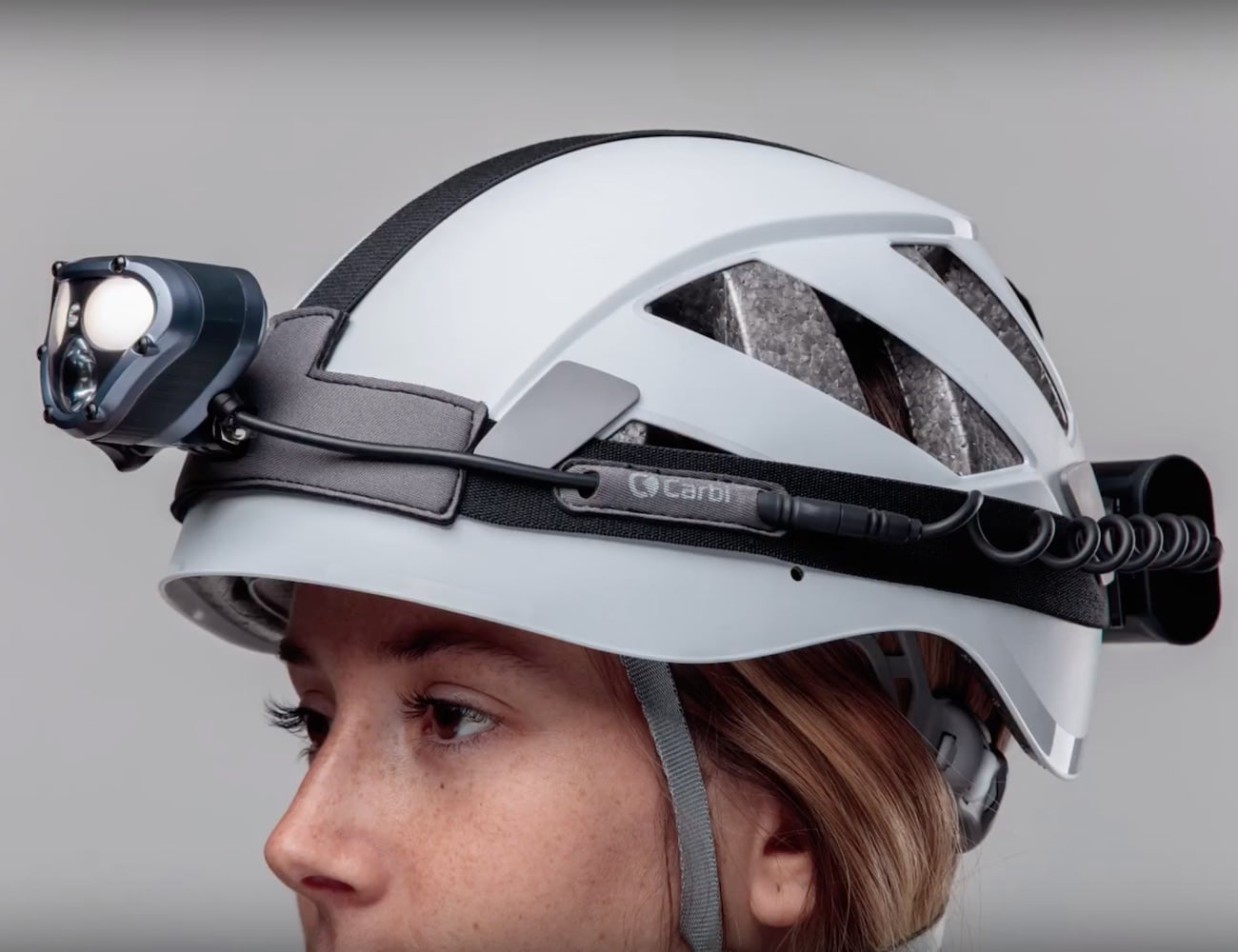 Carbi 1500 Lumen Headlamp lights up any activity without tunnel effect