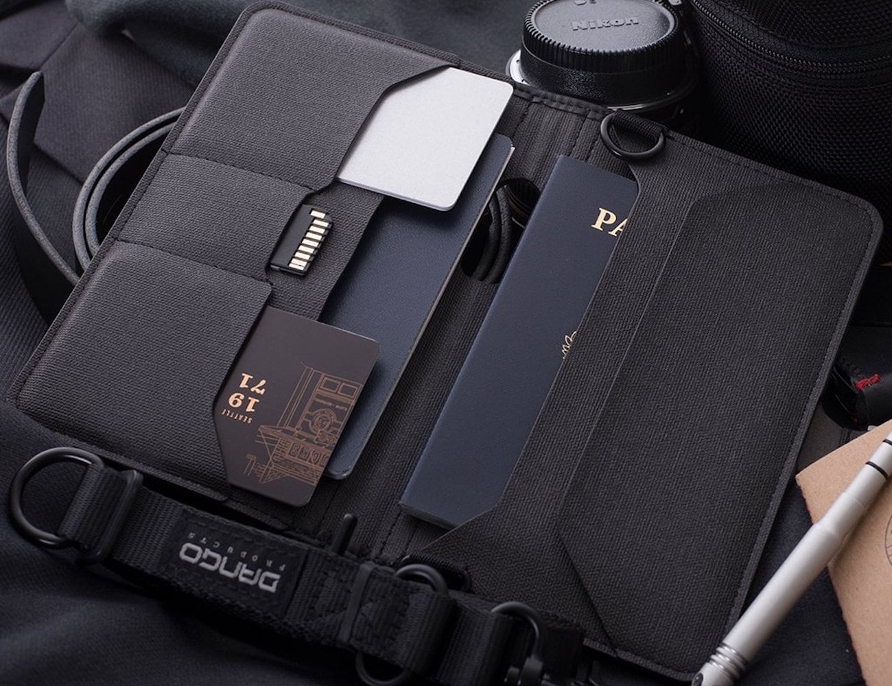 Dango P02 Pioneer Large Travel Wallet is here to carry all of your important travel documents