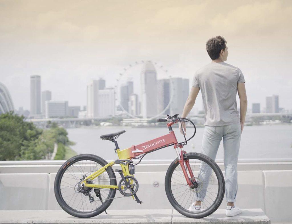 Dexquisite Self-Charging E-Bike