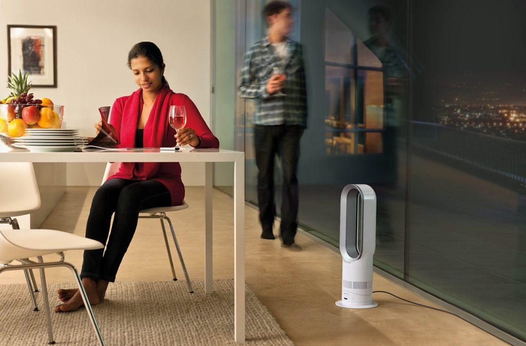 Dyson AM04 Hot + Cool Fan Heater