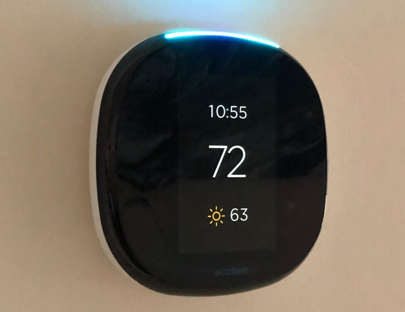 ecobee4 Room-Sensing Alexa Thermostat does way more than set the temperature