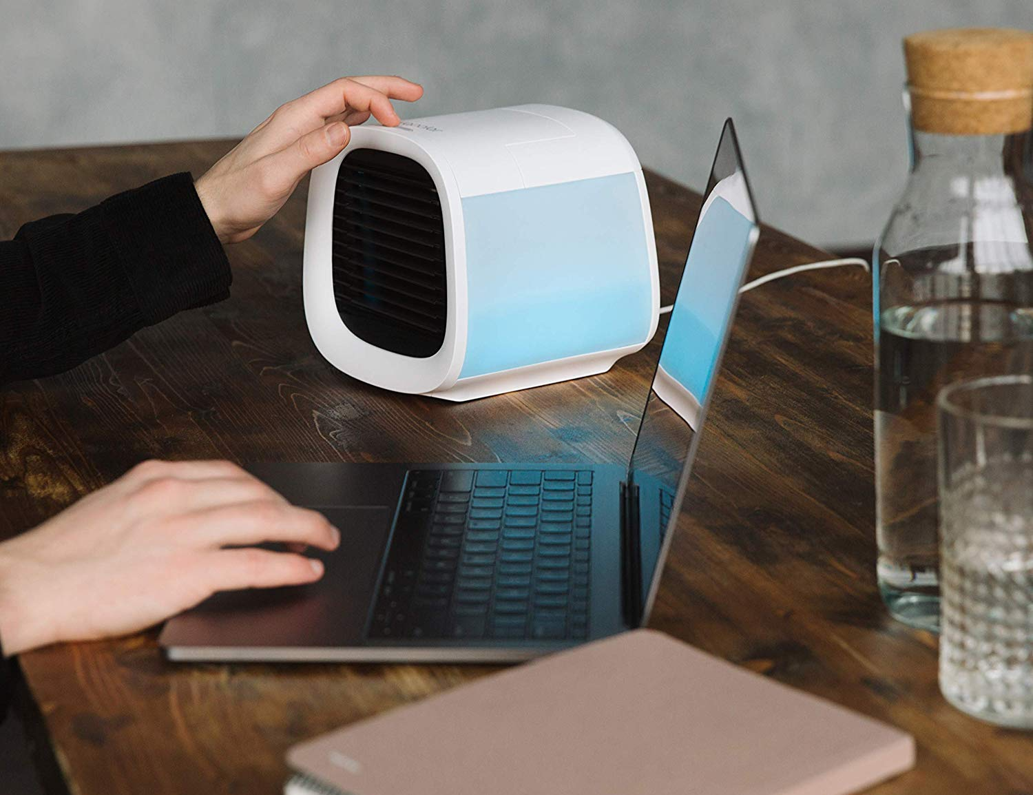 Evapolar evaCHILL Personal Evaporative Air Cooler will keep you cool wherever you are