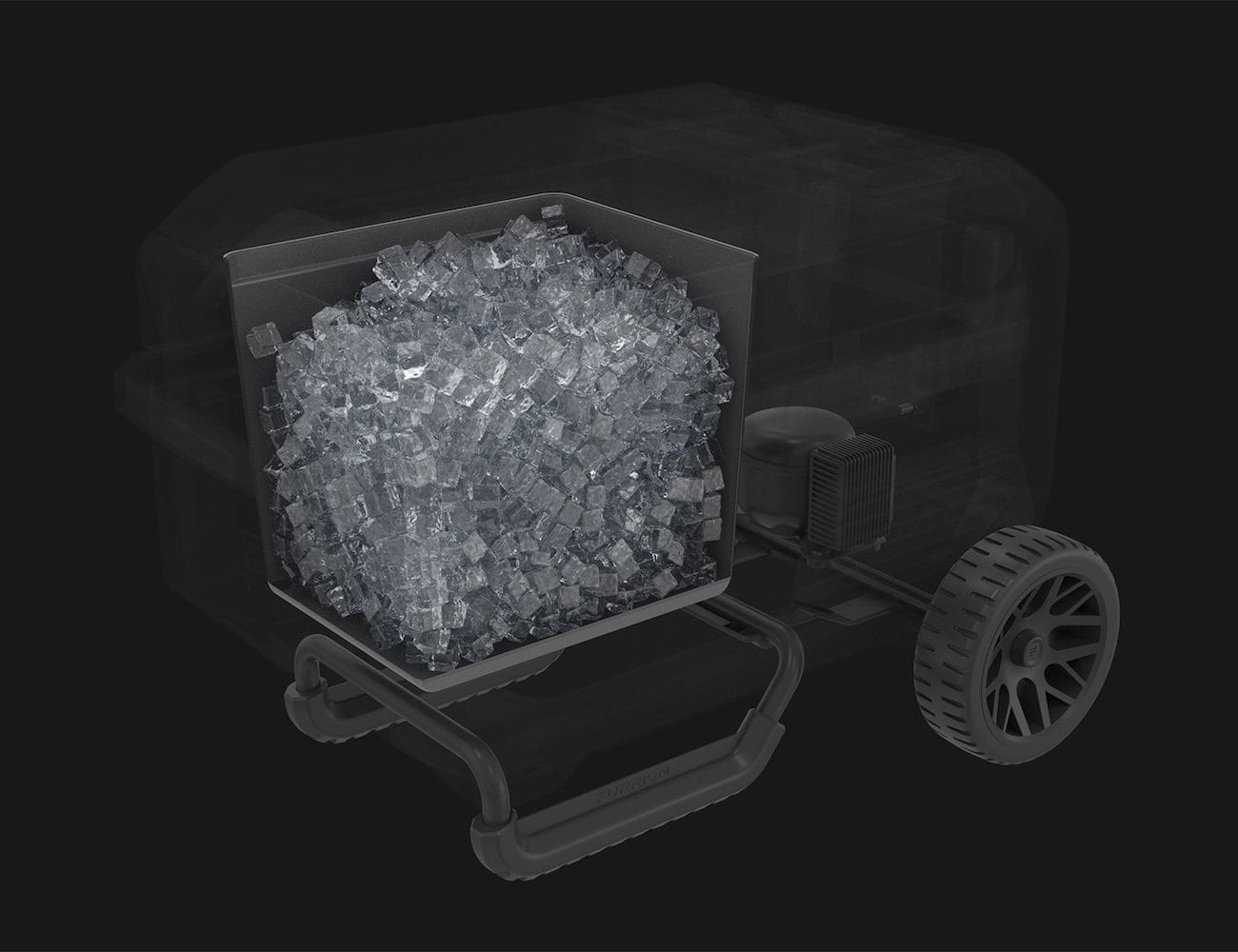 Furrion Rova 45 Rolling Electric Cooler