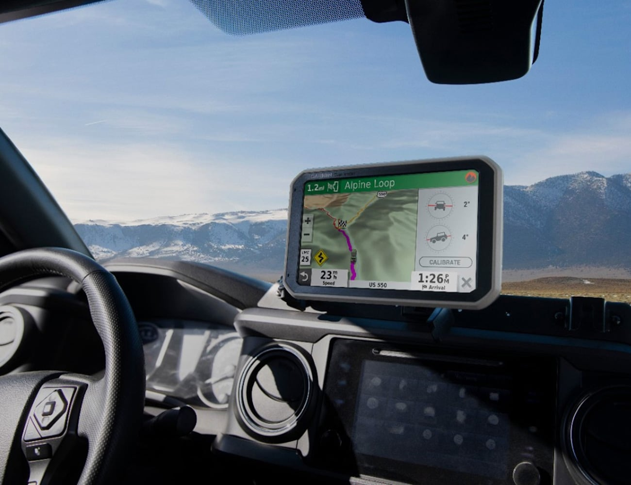 Garmin Overlander Off Road GPS is a great road trip companion