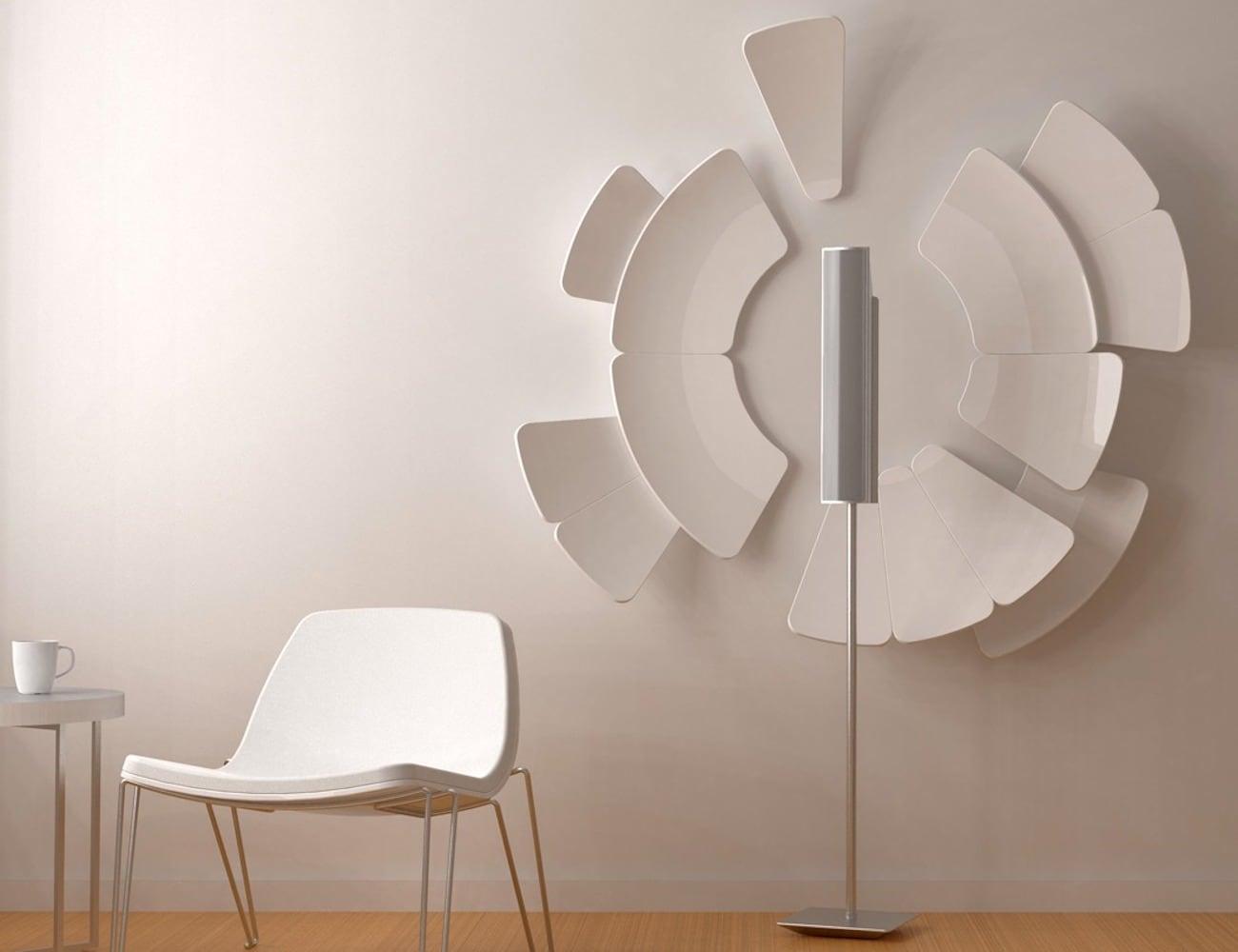 Grau Design Petalis Petal Shaped Acoustic Amplifiers are part intuitive sound design part art installation