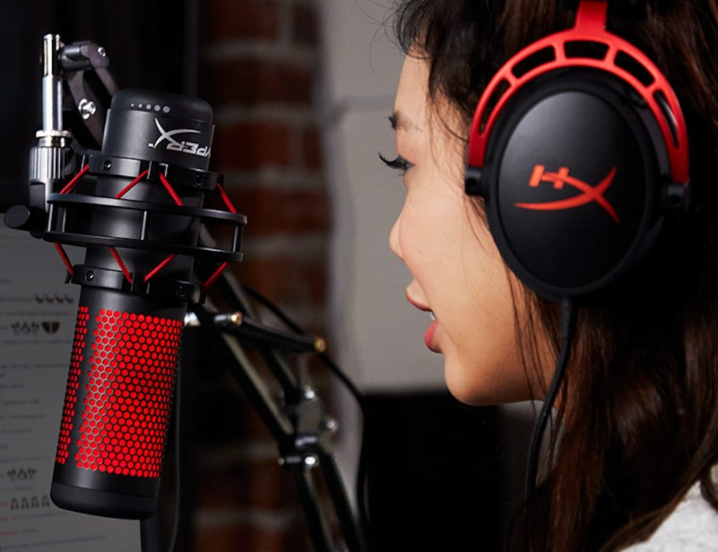 HyperX+QuadCast+All-Inclusive+Standalone+Microphone+helps+you+podcast+like+a+pro