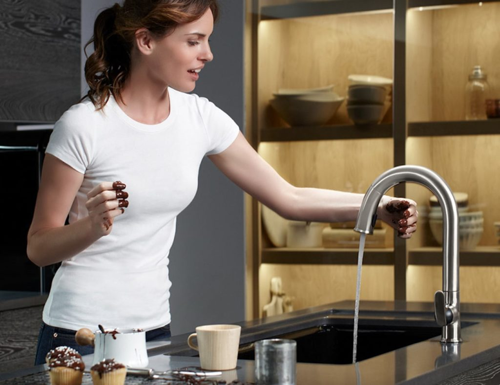 Kohler Konnect Sensate Smart Kitchen Sink Faucet