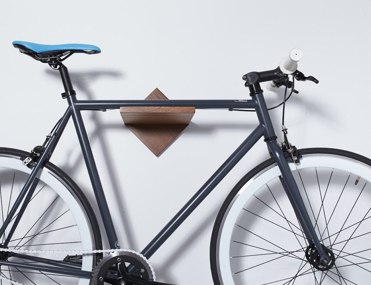 Loma Living Burnside minimalist bike rack is the coolest way to store your bike