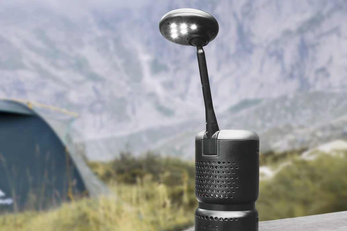 Lumir K is the LED lamp that needs no batteries