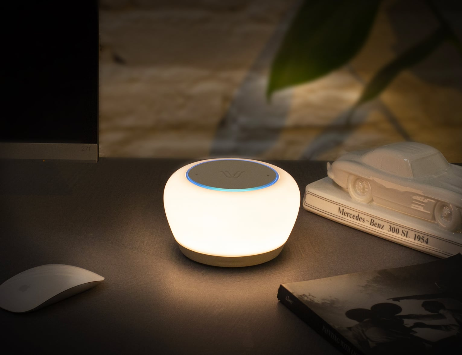 Luna Smart Wireless Charging Alexa Lamp is loaded with intelligent features