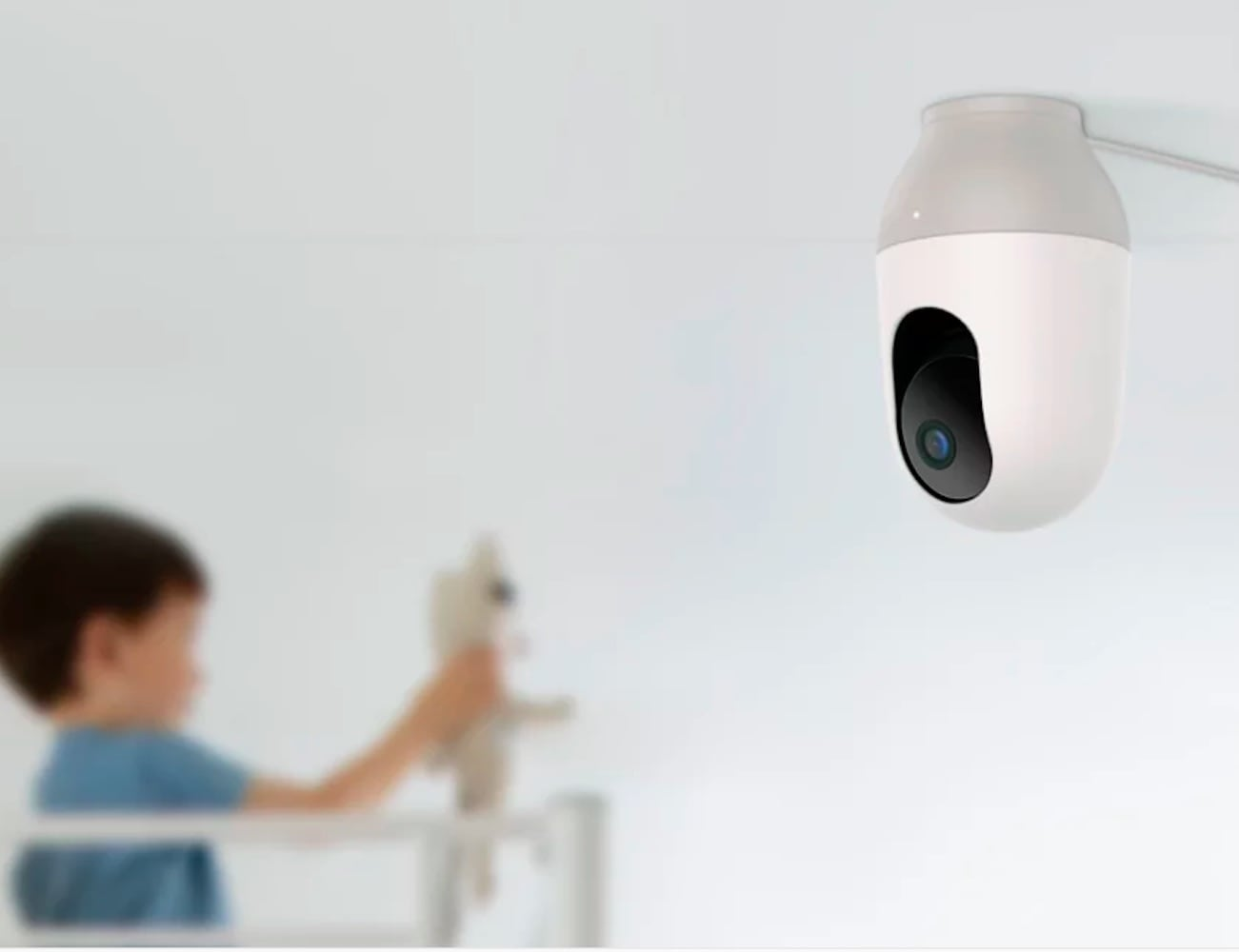 Nooie Cam 360 Motion-Tracking Camera provides 360° coverage