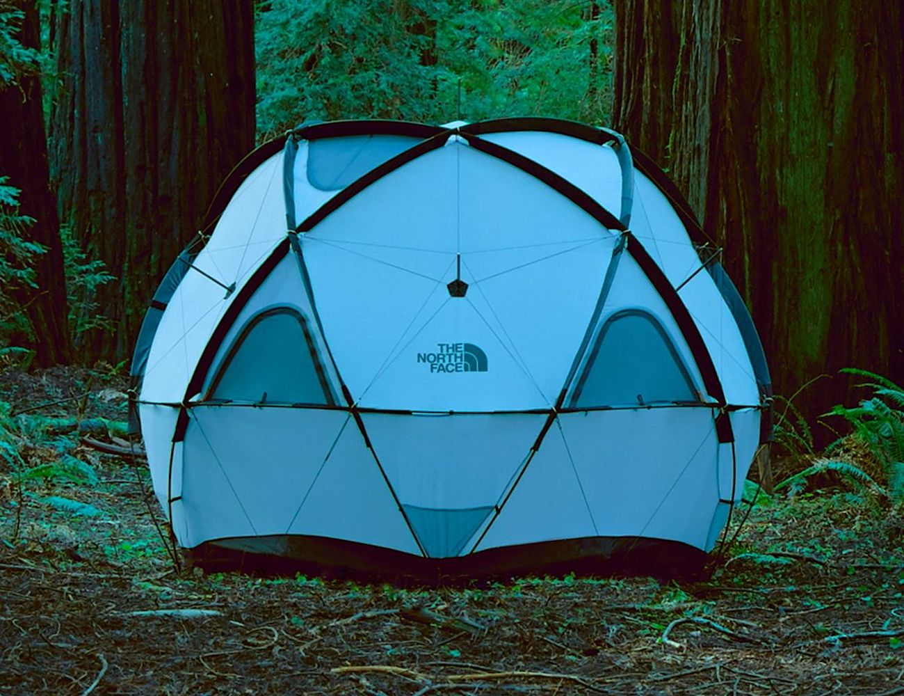 North Face Geodome 4 Circular Tent is a modern take on camping