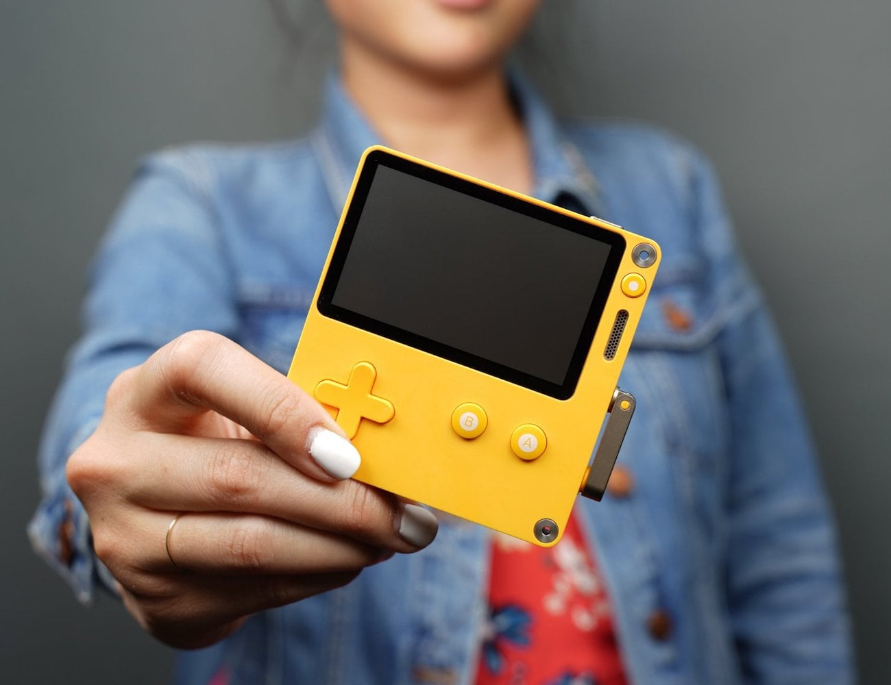 Playdate Handheld Gaming System comes with 12 unique video games