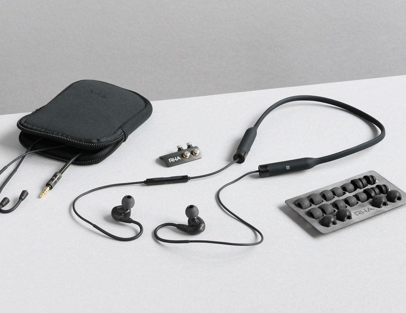 RHA T20 Wireless Wraparound Earbuds offer crystal clear sound quality