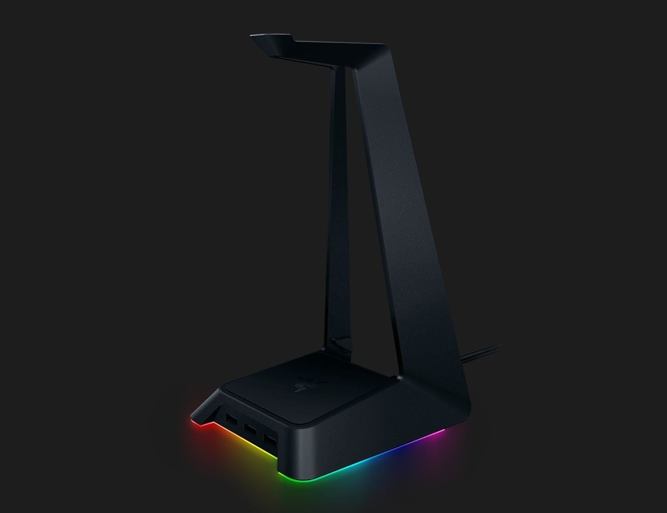 This Usb Headset Desk Stand Is Perfect For Organized Gamers