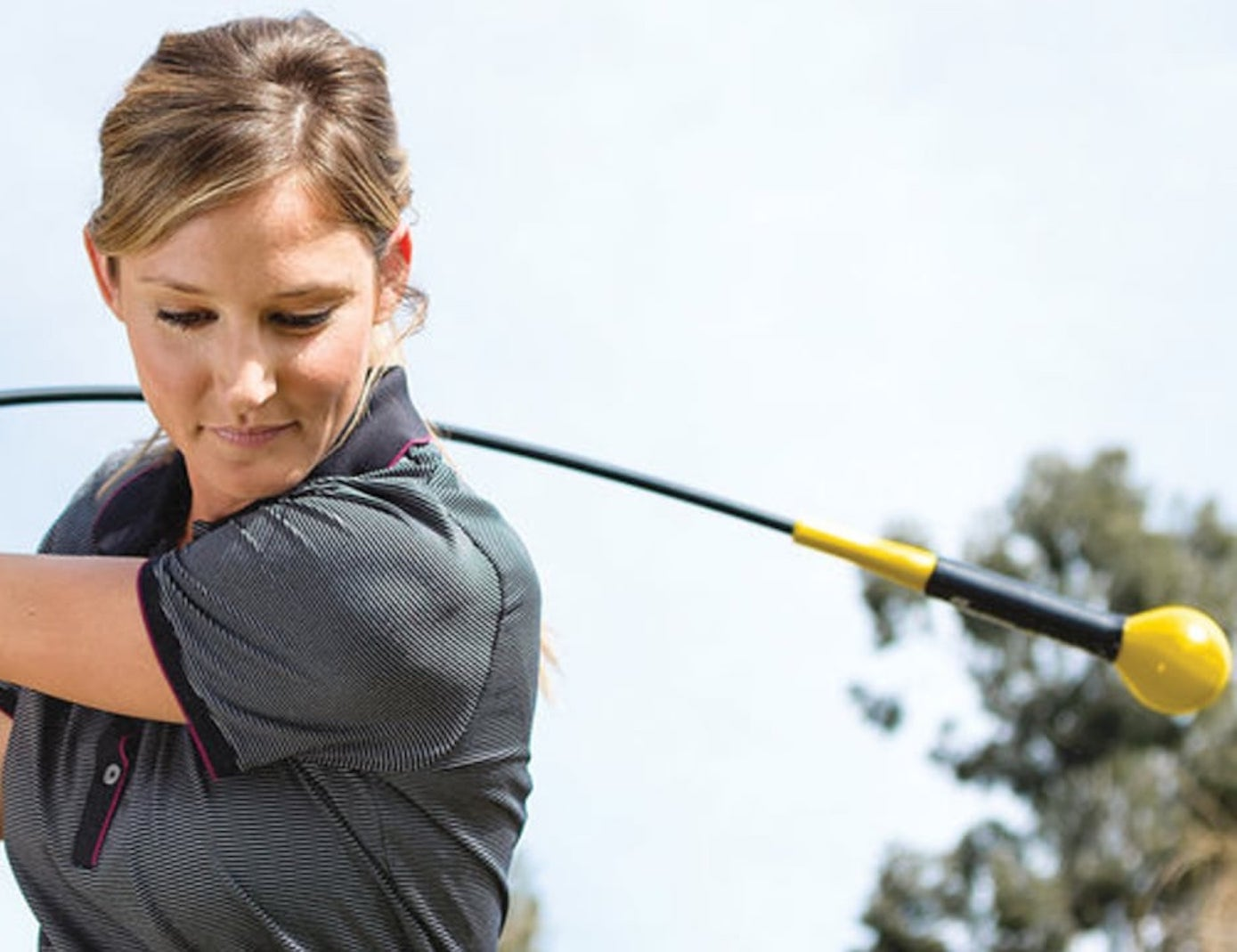 SKLZ Gold Flex Training Golf Club is here to help you develop your swinging mechanics