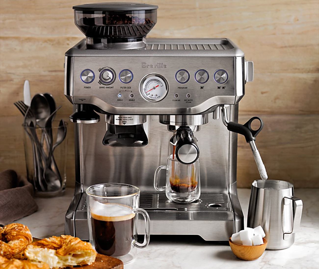 The best affordable espresso machines you can buy in 2019 - Breville Barista Express 2