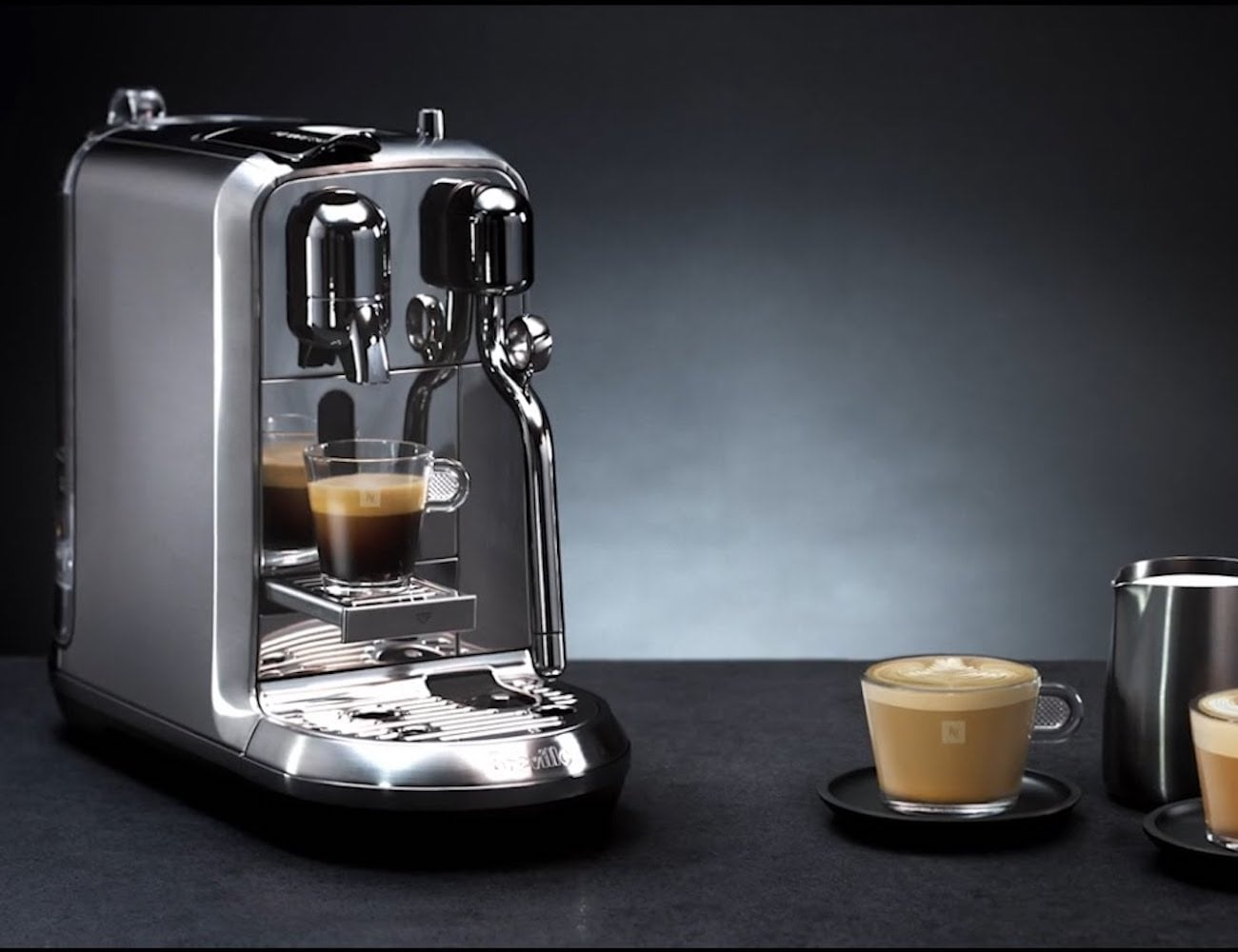 The best affordable espresso machines you can buy in 2019 - Breville Nespresso Creastista 2