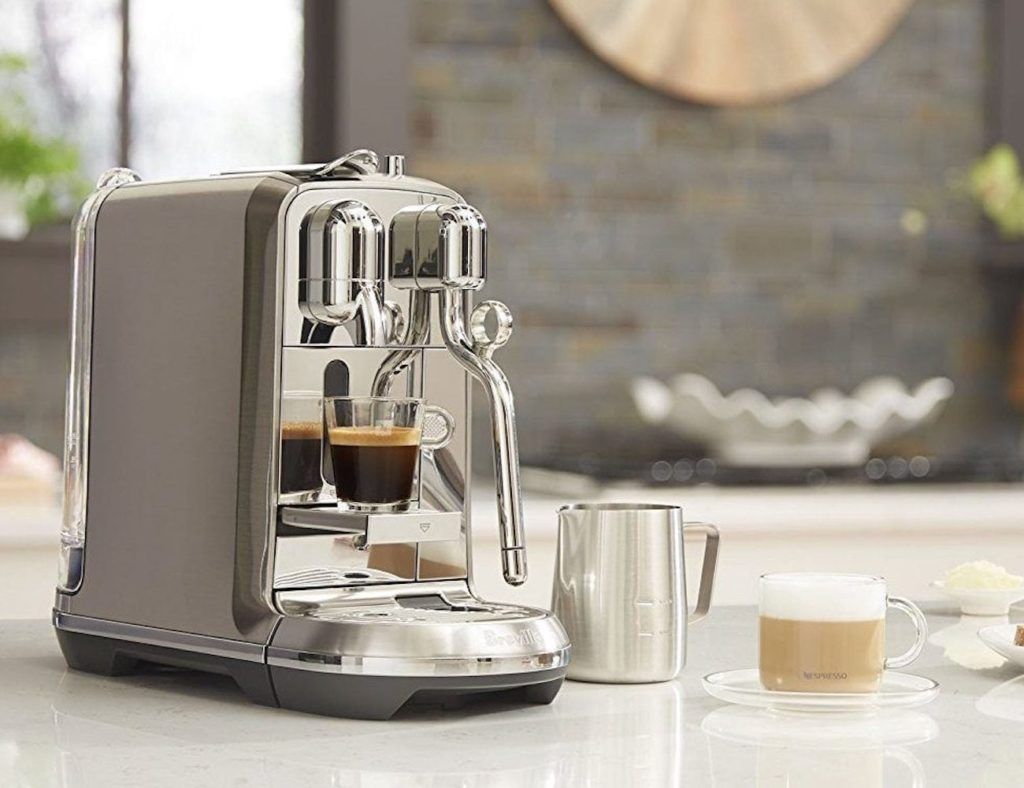 The best affordable espresso machines you can buy in 2019 - Breville Nespresso Creastista 3