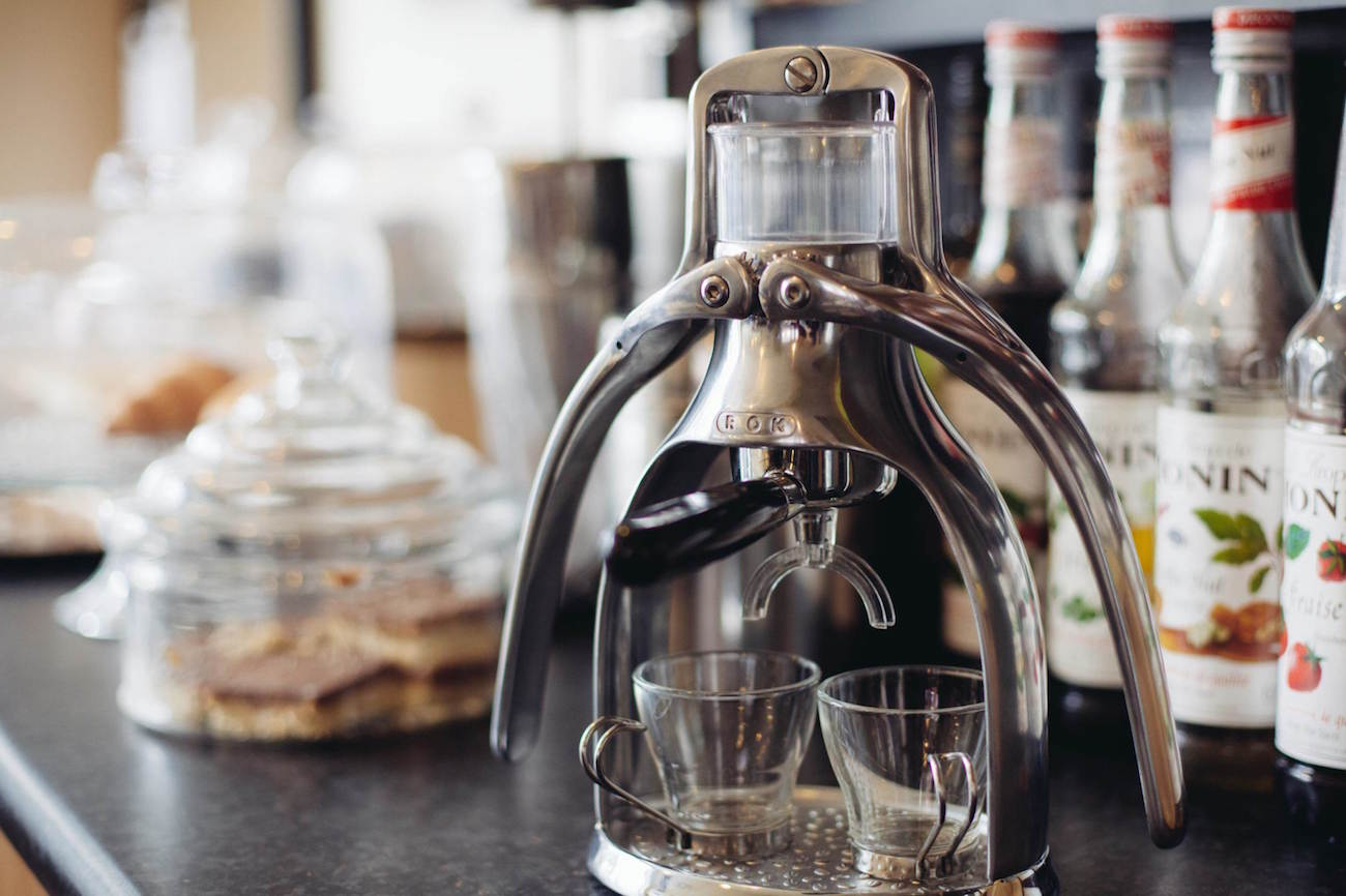 The best affordable espresso machines you can buy in 2019 - ROK Espresso Maker 2