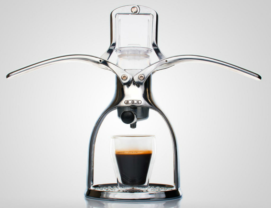 The best affordable espresso machines you can buy in 2019 - ROK Espresso Maker 3