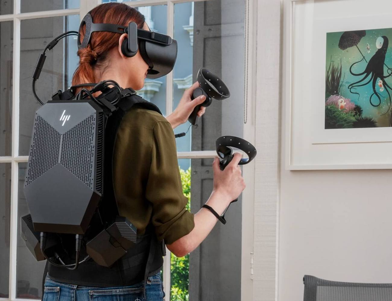 The best new tech revealed at Computex 2019 - HP VR backpack 02