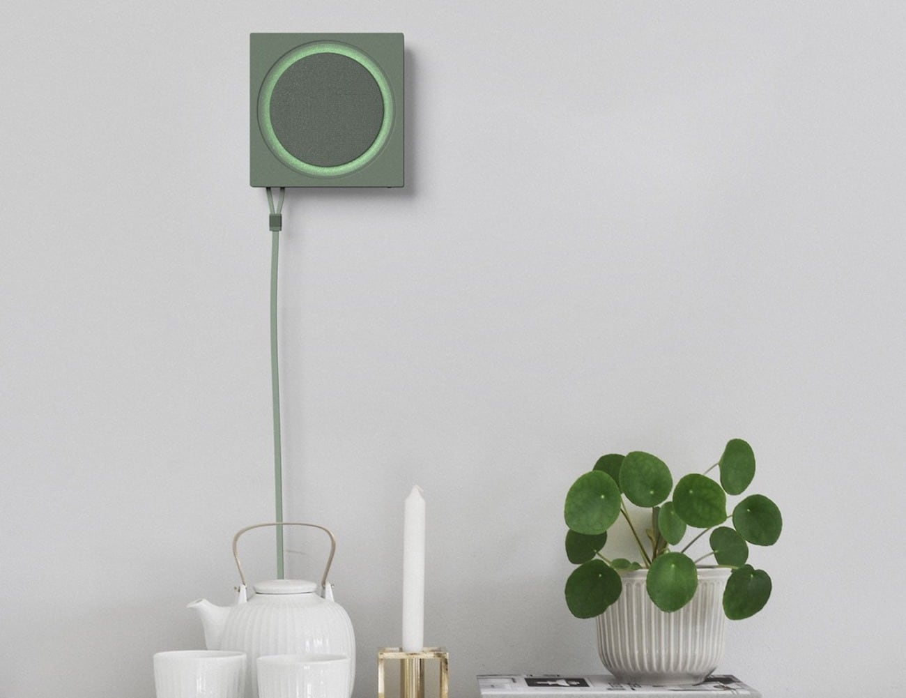 Wall Router Minimalist Hanging Internet Router helps amplify your Wi-Fi signal