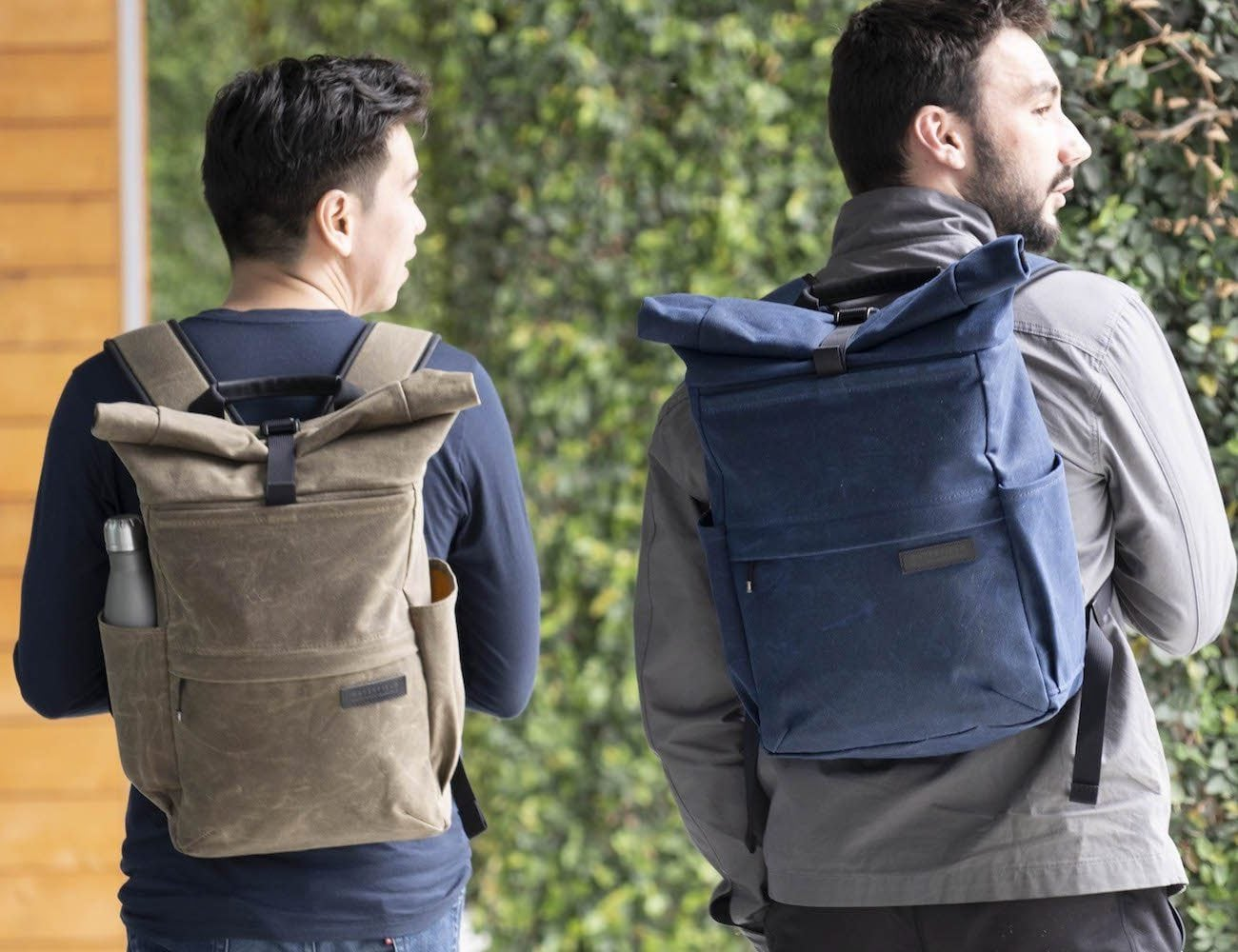WaterField Tech Rolltop Backpack Everyday Pack carries all your essentials