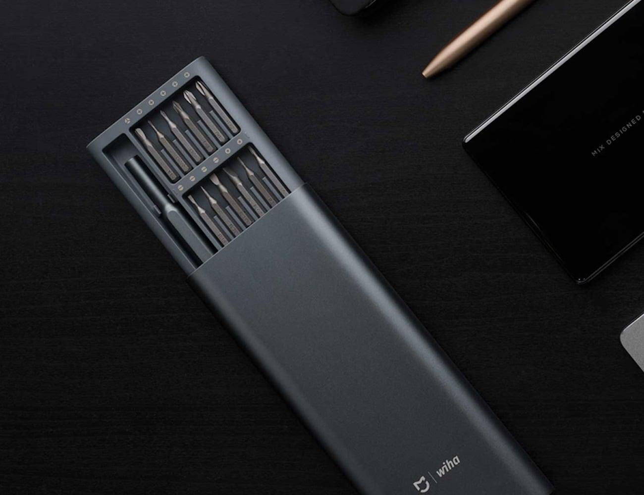 Xiaomi Wiha Precision Screwdriver Set has 24 magnetic bits for accuracy