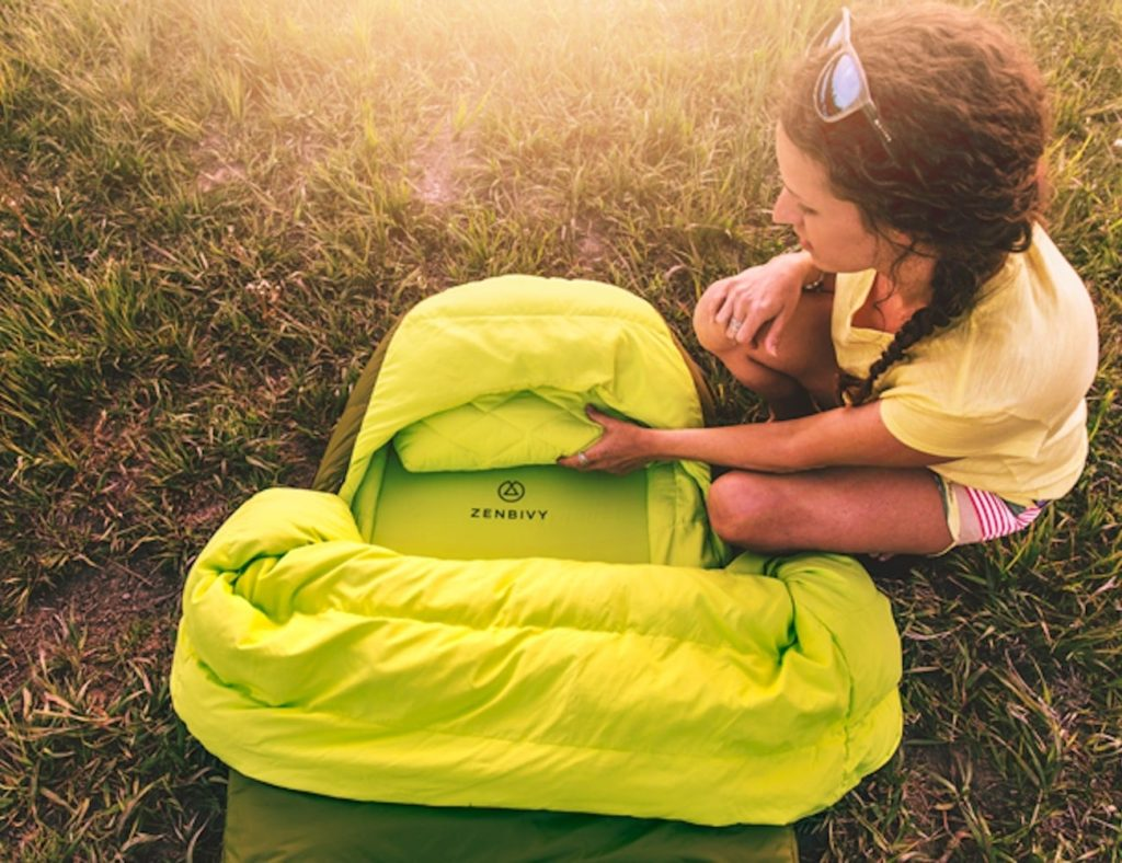 Zenbivy Bed Backcountry Sleeping Bag