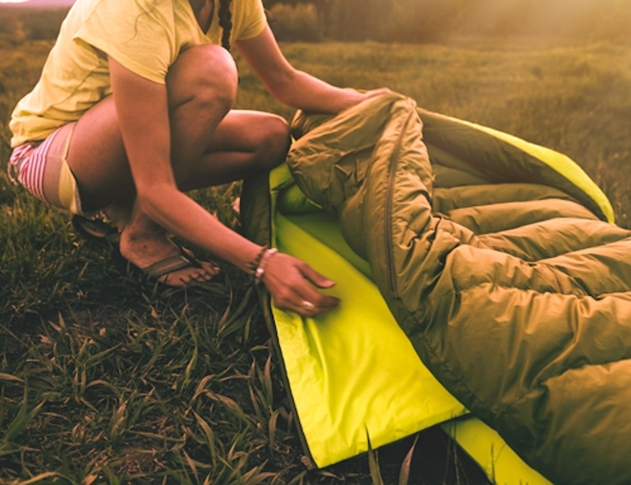 Zenbivy Bed Backcountry Sleeping Bag