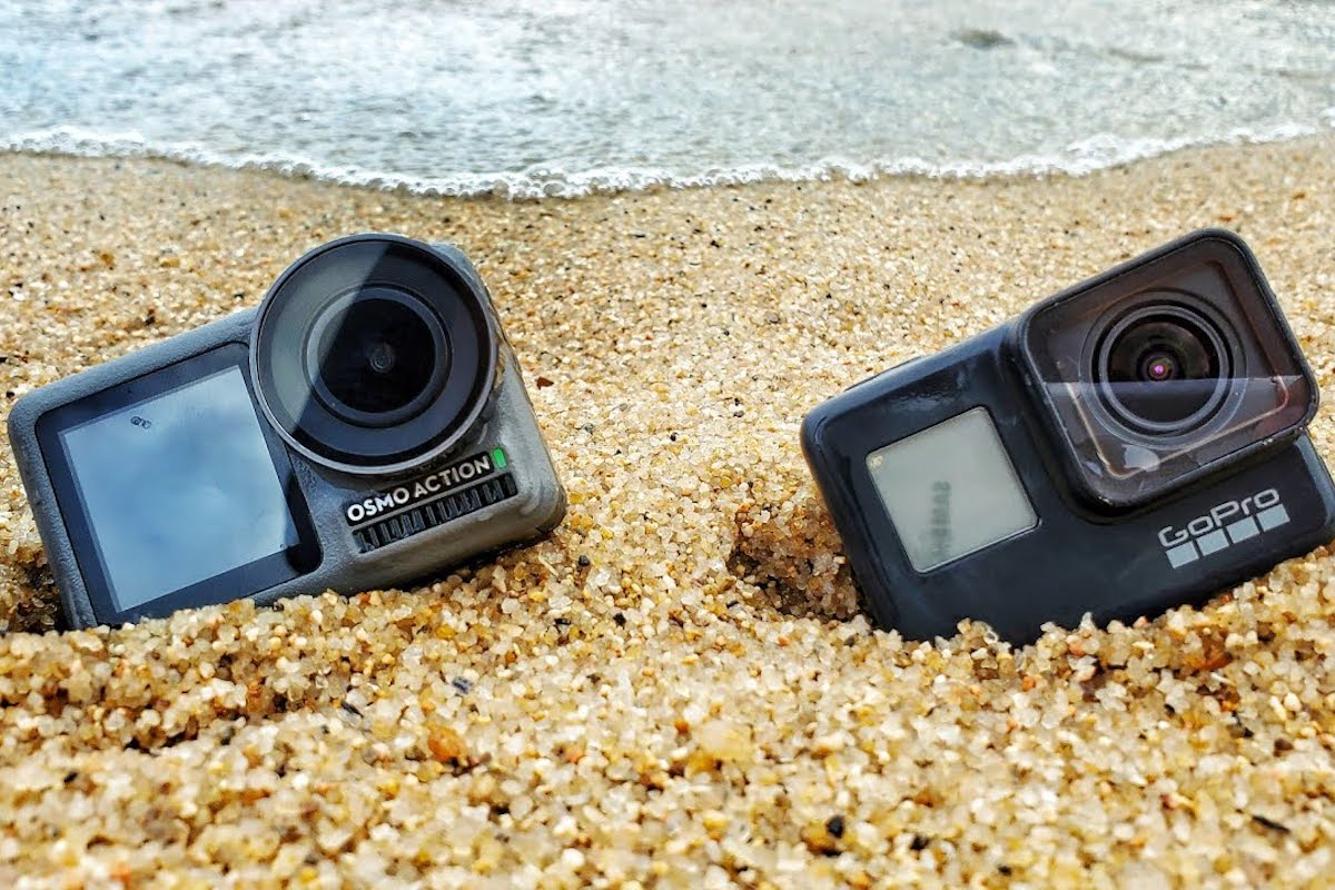GoPro Hero 7 vs. DJI Osmo Action vs. Yi 4K+—Which action camera is best for summer adventures?