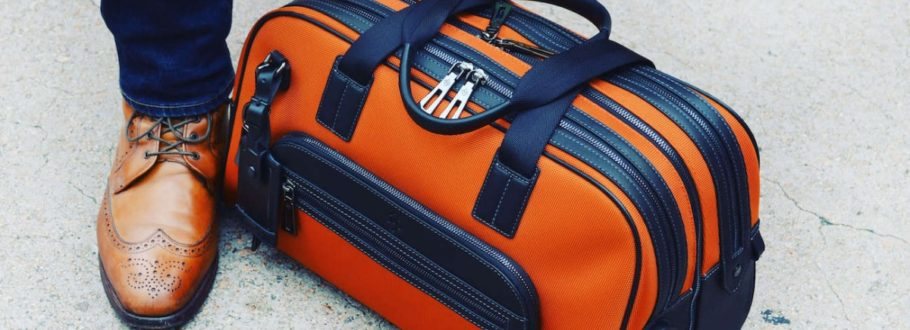 Save time at security with the innovative ATLAS travel bag