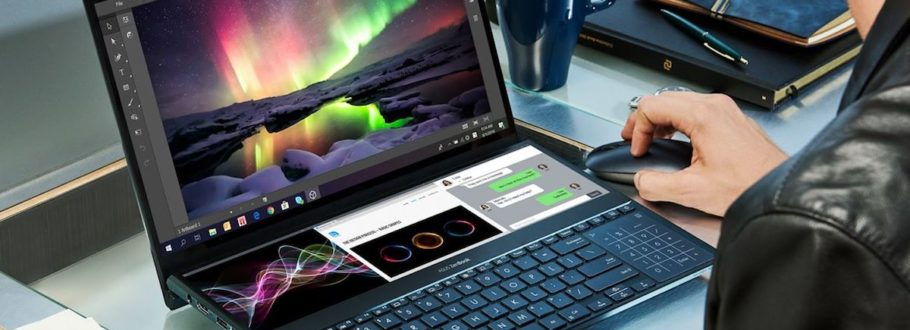 Are dual-screen laptops the future of on-the-go systems?