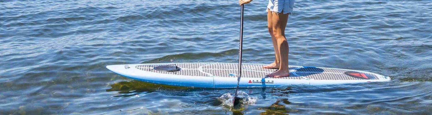 Paddle board won't fit in your car? Easy Eddy is the solution