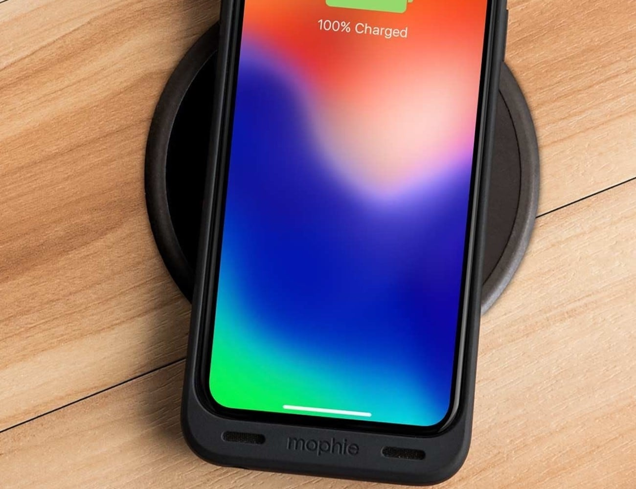 brand new 7ca2a 072ff mophie juice pack air iPhone X Battery Case can wirelessly charge your  smartphone