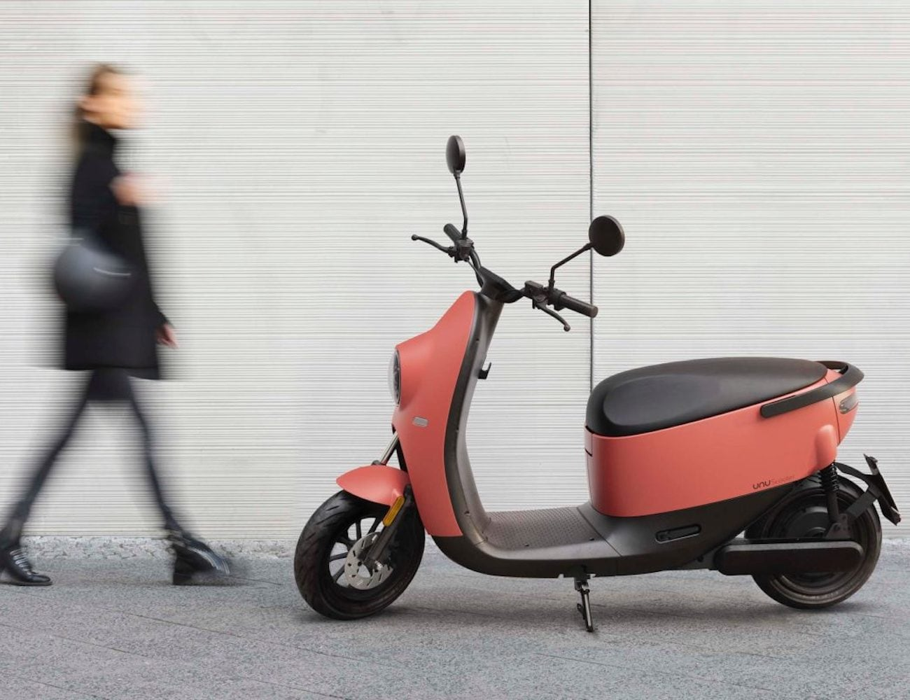 unu Scooter Smart Electric Vehicle has a completely silent motor