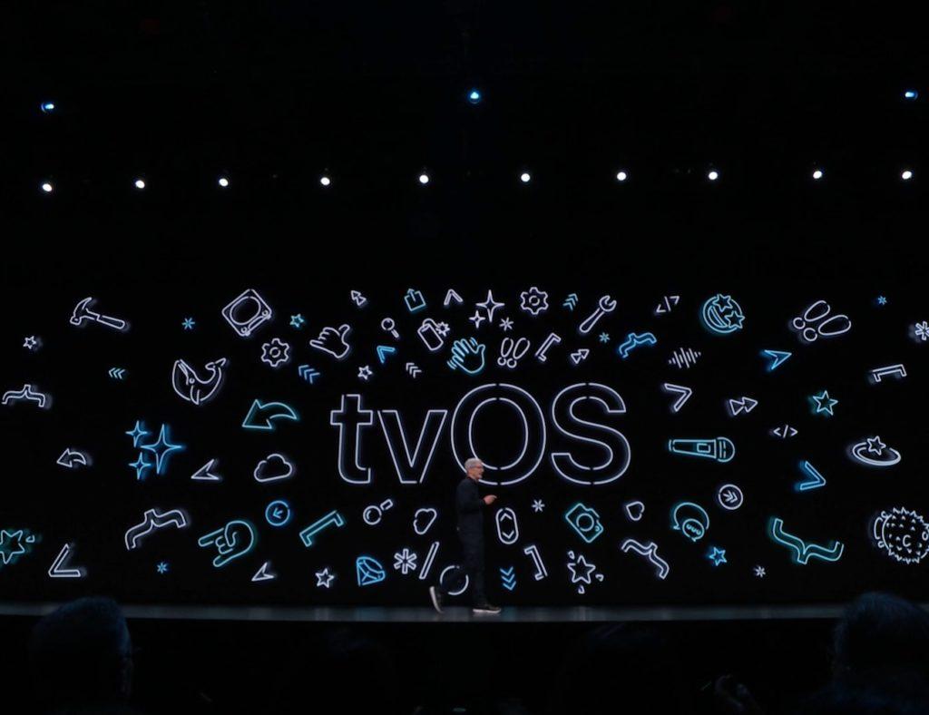 New tvOS wwdc 2019