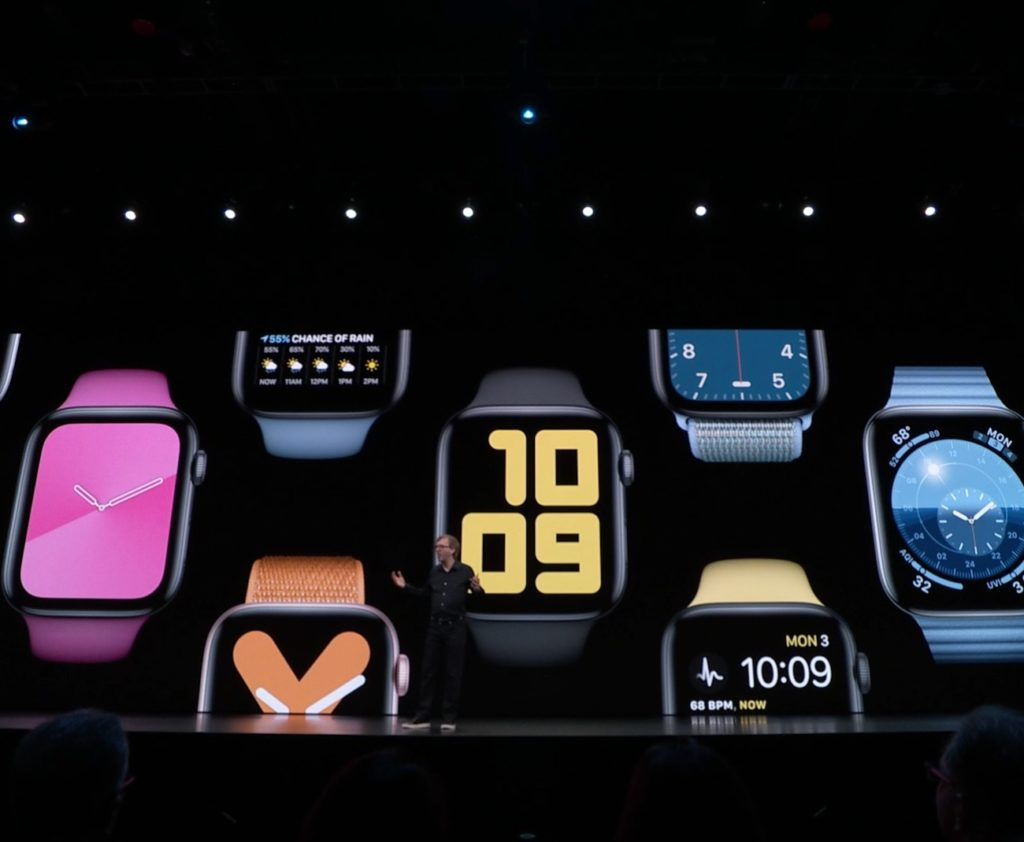 6 new watch faces