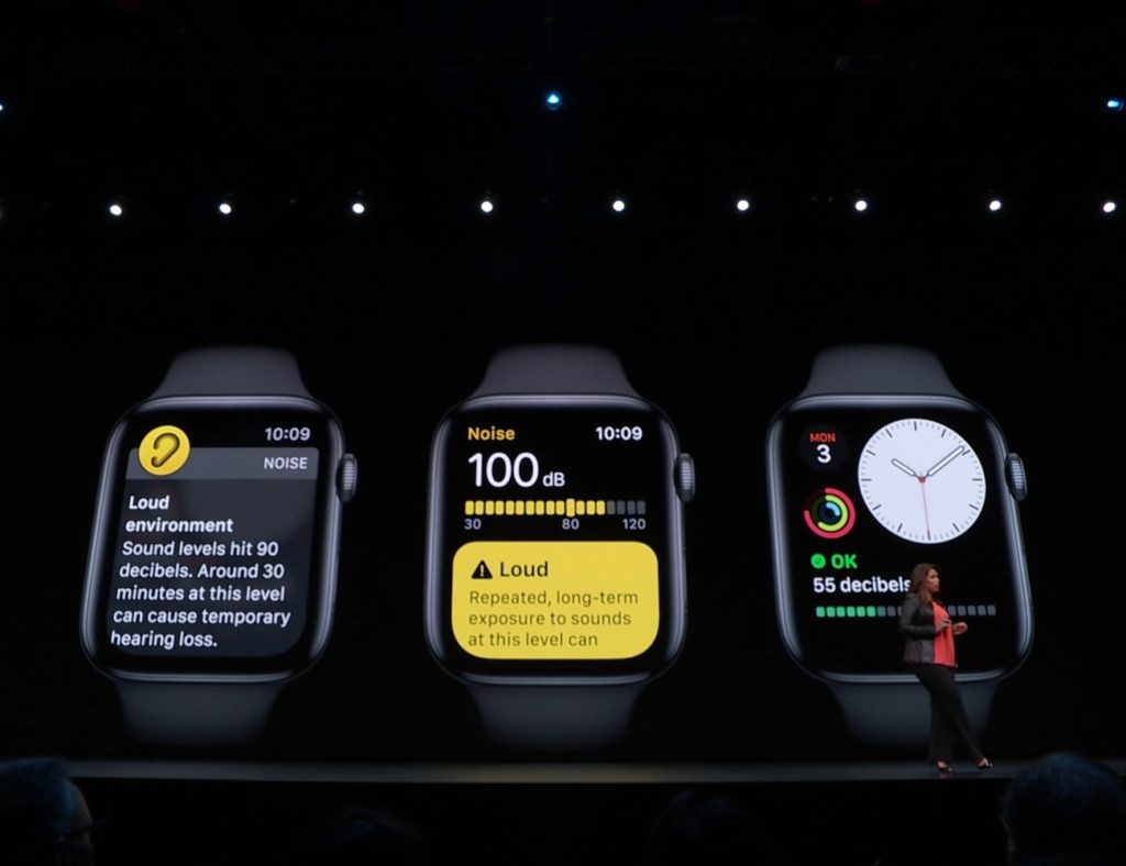 Noise environment watchos wwdc 2019